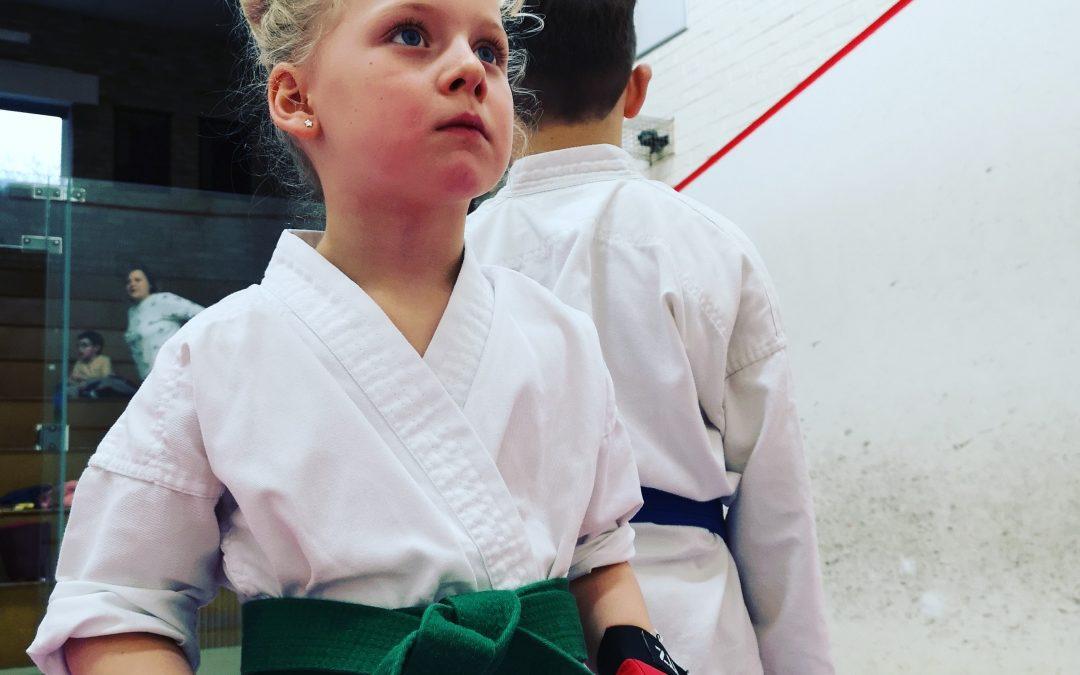 Karate for girls